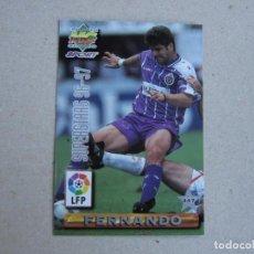 Cartes à collectionner de Football: MUNDICROMO FICHAS LIGA 96 97 SUPESTARS N 447 FERNANDO VALLADOLID FAIZULIN RACING SANTANDER 1996 1997. Lote 242203770