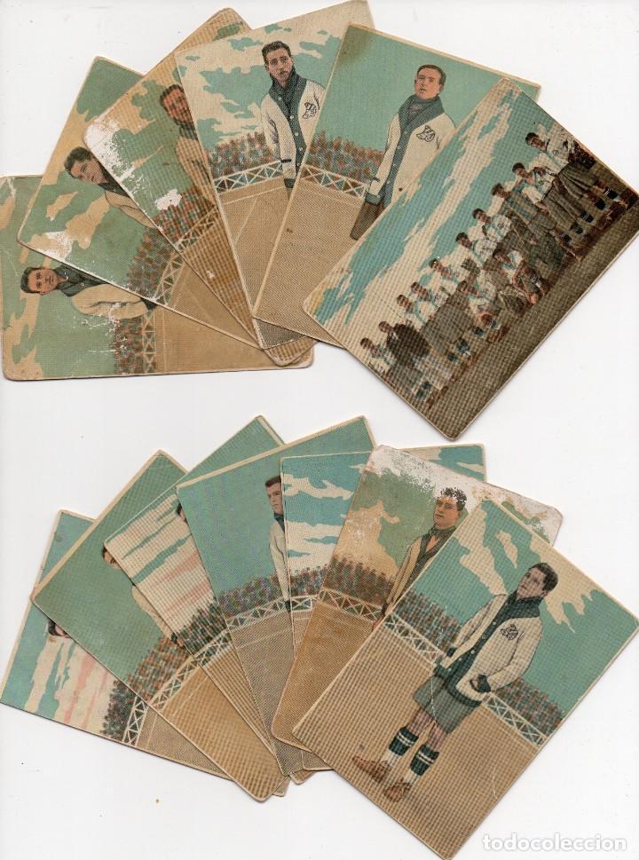 C.D.EUROPA EQUIPO COMPLETO TEMPORADA 1922-23 (Coleccionismo Deportivo - Álbumes y Cromos de Deportes - Cromos de Fútbol)