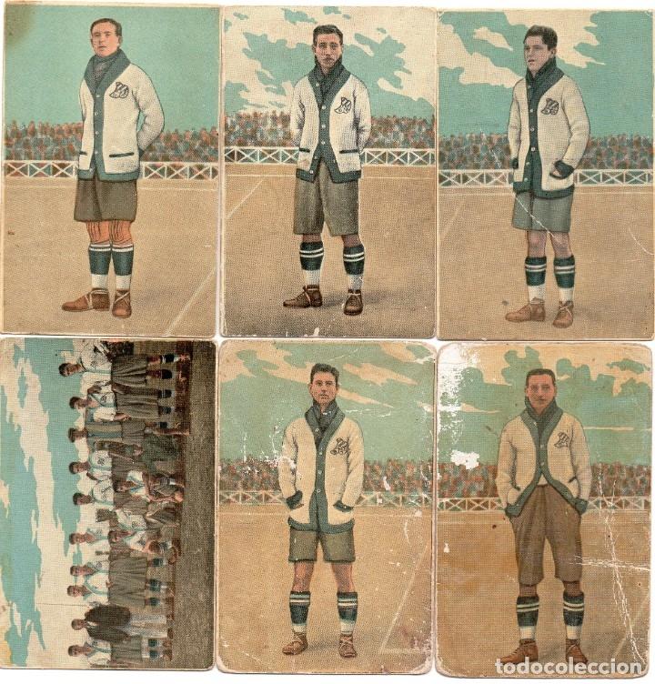 Cromos de Fútbol: C.D.Europa equipo completo temporada 1922-23 - Foto 4 - 150527606