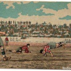 Cromos de Fútbol: LOS GRANDES PARTIDOS DE FUTBOL, ATLETIC DE BILBAO, F.C. BARCELONA,1923. Lote 150726370