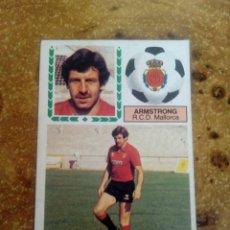 Cromos de Fútbol: COLOCA ARMSTRONG (MALLORCA) 83-84 ESTE. MUY DIFÍCIL. Lote 150796178