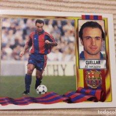 Cromos de Fútbol: CROMO CUELLAR (F.C. BARCELONA) LIGA 95-96 (1995 1996) ÁLBUM ESTE (SIN PEGAR). Lote 150842250