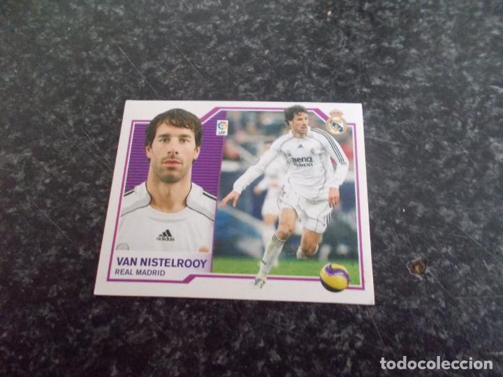 CROMO ESTE 2007/08 / // VAN NISTELROOY ( REAL MADRID ) NUNCA PEGADO (Coleccionismo Deportivo - Álbumes y Cromos de Deportes - Cromos de Fútbol)