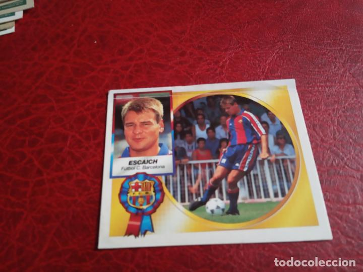 ESCAICH COLOCA ED ESTE 94 95 CROMO FUTBOL LIGA 1994 1995 - VENTANILLA - 593 FICHAJE 19 (Coleccionismo Deportivo - Álbumes y Cromos de Deportes - Cromos de Fútbol)