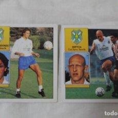 Cromos de Fútbol: CROMO EDICIONES ESTE FERNANDO REDONDO Y OSCAR DERTYCIA. CD TENERIFE. TEMPORADA 92-93. Lote 151106182
