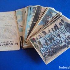 Cromos de Fútbol: (F-190240) VIII OLIMPIADA CELEBRADA EN FRANCIA - 42 CROMOS (COMPLETA) - CHOCOLATE EDUARDO PI. Lote 151486518