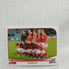 Cromos de Fútbol: PANINI FIFA WORLD CUP SOUTH AFRICA 2010 353-TEAM PHOTO DANMARK. Lote 151508498