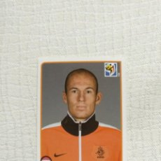 Cromos de Fútbol: PANINI FIFA WORLD CUP SOUTH AFRICA 2010 348-ARJEN ROBBEN NEDERLAND. Lote 151508622