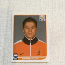 Cromos de Fútbol: PANINI FIFA WORLD CUP SOUTH AFRICA 2010 347-IBRAHIM AFELLAY NEDERLAND. Lote 151508634