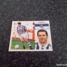 Cromos de Fútbol: CROMO ESTE 99/2000/ , FUENTES ( REAL SOCIEDAD ) NUNCA PEGADO. Lote 151579410