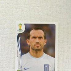 Cromos de Fútbol: PANINI COPA MUNDIAL DE LA FIFA BRASIL 2014 220-FANIS GEKAS HELLAS. Lote 151579482