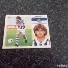 Cromos de Fútbol: CROMO ESTE 99/2000/ , BARKERO ( REAL SOCIEDAD ) NUNCA PEGADO. Lote 151579582