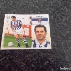 Cromos de Fútbol: CROMO ESTE 99/2000/ , FUENTES ( REAL SOCIEDAD ) NUNCA PEGADO. Lote 151579634