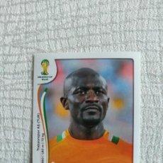 Cromos de Fútbol: PANINI COPA MUNDIAL DE LA FIFA BRASIL 2014 230-DIDIER ZOKORA CÔTE D IVOIRE. Lote 151579782