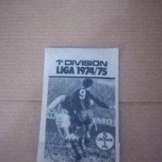 Cromos de Fútbol: SOBRE CROMOS SIN ABRIR. ESTE 1974-75. Lote 151632042