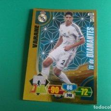Cromos de Fútbol: 372 VARANE (11 DE DIAMANTES) - REAL MADRID - CROMO ADRENALYN XL 2013-14 - 13/14. Lote 151731762