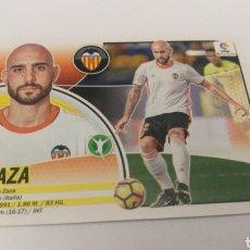 Cromos de Fútbol: ZAZA N 39 MERCADO INVIERNO VALENCIA LIGA ESTE PANINI 2016 2017 16 17. Lote 151912164