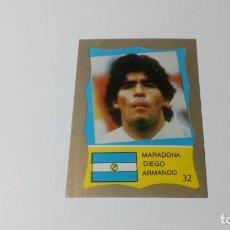 Cromos de Fútbol: 32 DIEGO MARADONA ARGENTINA BARCELONA REYAUCA MUNDIAL FUTBOL MEXICO 1986 WORLD CUP NUEVO NO PANINI. Lote 151912226