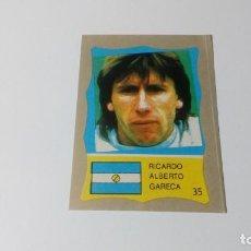 Cromos de Fútbol: 35 ALBERTO GARECA ARGENTINA REYAUCA MUNDIAL FUTBOL MEXICO 1986 WORLD CUP NUEVO NO ESTE PANINI. Lote 151912242