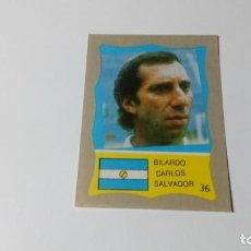 Cromos de Fútbol: 36 SALVADOR BILARDO ARGENTINA REYAUCA MUNDIAL FUTBOL MEXICO 1986 WORLD CUP NUEVO NO ESTE PANINI. Lote 151912246