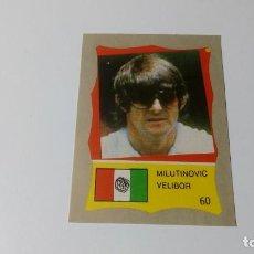 Cromos de Fútbol: 60 VELIBOR MILUTINOVIC MEXICO REYAUCA MUNDIAL FUTBOL MEXICO 1986 WORLD CUP NUEVO NO ESTE PANINI. Lote 151912306