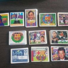 Cromos de Fútbol: LOTE DE 242 CROMOS FÚTBOL CLUB BARCELONA LIGA ESTE (VER FOTOGRAFÍAS Y DESCRIPCION) DESDE 1991 A 2003. Lote 152157154