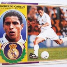 Cromos de Fútbol: LIGA 9697 COLECCION ESTE ROBERTO CARLOS DE DOS MANERA DIFERENTE. Lote 152207634