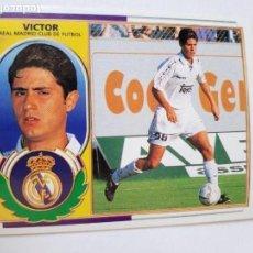 Cromos de Fútbol: COLECCIONES ESTE VICTOR REAL MADRID TEMPORADA 9697 COLOCA. Lote 152228366