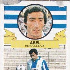 Cromos de Fútbol: ESTE 85-86 - ABEL (DIFICIL) - BAJA - RECUPERADO -. Lote 152375754