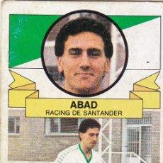 Cromos de Fútbol: ESTE 85-86 - ABAD (DIFICIL) - BAJA - RECUPERADO -. Lote 152375834