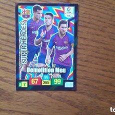 Cromos de Fútbol: 436 SUPER HEROES DEMOLITION MEN ADRENALYN 18/19. Lote 152377106