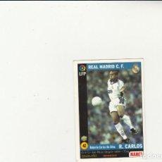 Cromos de Fútbol: MUNDICROMO SPORT 1998-1999 Nº 42 ROBERTO CARLOS VERSION MARCA LIGA 98/99 REAL MADRID. Lote 152388994