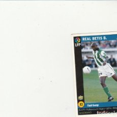 Cromos de Fútbol: MUNDICROMO SPORT 1998-1999 Nº 83 FINIDI VERSION MARCA LIGA 98/99 REAL BETIS. Lote 152389430