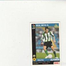 Cromos de Fútbol: MUNDICROMO SPORT 1998-1999 Nº 82 ALFONSO VERSION MARCA LIGA 98/99 REAL BETIS. Lote 152389538