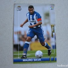 Cromos de Fútbol: PANINI MEGAFICHAS 2003 2004 Nº 118 MAURO SILVA DEPORTIVO CORUÑA MEGACRACKS 03 04. Lote 152532894