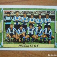 Cromos de Fútbol: CROMO LIGA ESTE 84 85 ALINEACION EQUIPO (HERCULES) - DESPEGADO - 1984 1985. Lote 152575894