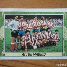 Cromos de Fútbol: CROMO LIGA ESTE 84 85 ALINEACION EQUIPO (ATLETICO MADRID) - DESPEGADO - 1984 1985. Lote 152576066