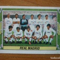 Cromos de Fútbol: CROMO LIGA ESTE 84 85 ALINEACION EQUIPO (REAL MADRID) - DESPEGADO - 1984 1985 . Lote 152576250