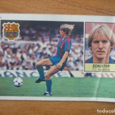 Cromos de Fútbol: CROMO LIGA ESTE 84 85 SCHUSTER (FC BARCELONA) - DESPEGADO - 1984 1985 BARÇA VER DESCR. Lote 152577362