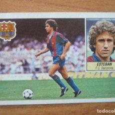Cromos de Fútbol: CROMO LIGA ESTE 84 85 ESTEBAN VIGO (FC BARCELONA) - DESPEGADO - 1984 1985 BARÇA. Lote 152577490