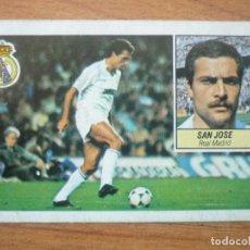 Cromos de Fútbol: CROMO LIGA ESTE 84 85 SAN JOSE (REAL MADRID) - DESPEGADO - 1984 1985 . Lote 152581662