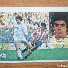 Cromos de Fútbol: CROMO LIGA ESTE 84 85 SANCHIS (REAL MADRID) - DESPEGADO - 1984 1985 . Lote 152581818