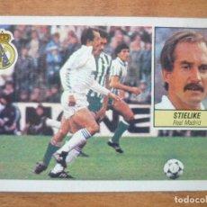 Cromos de Fútbol: CROMO LIGA ESTE 84 85 STIELIKE (REAL MADRID) - DESPEGADO - 1984 1985 . Lote 152581942