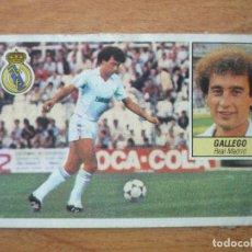 Cromos de Fútbol: CROMO LIGA ESTE 84 85 GALLEGO (REAL MADRID) - DESPEGADO - 1984 1985 . Lote 152582074
