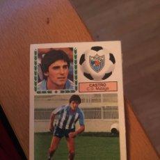 Cromos de Fútbol: ESTE 83 84 1983 1984 DESPEGADO MALAGA CASTRO. Lote 152582678