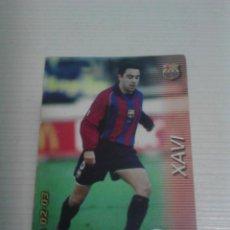 Cromos de Fútbol: MEGAFICHAS 02-03 NÚM. 62 XAVI F.C. BARCELONA MEGACRACKS.. Lote 152582802