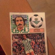 Cromos de Fútbol: ESTE 83 84 1983 1984 DESPEGADO BETIS ORTEGA. Lote 152593185
