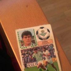 Cromos de Fútbol: ESTE 83 84 1983 1984 DESPEGADO BETIS PARRA. Lote 152593205