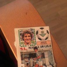 Cromos de Fútbol: ESTE 83 84 1983 1984 DESPEGADO BETIS RINCÓN. Lote 152593225
