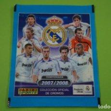 Cromos de Fútbol: SOBRE DE CROMOS DE FÚTBOL SIN ABRIR DE REAL MADRID 2007-2008/07-08 DE PANINI. Lote 152593246